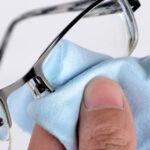 eyeglass cleaning at EyeluxOptometry
