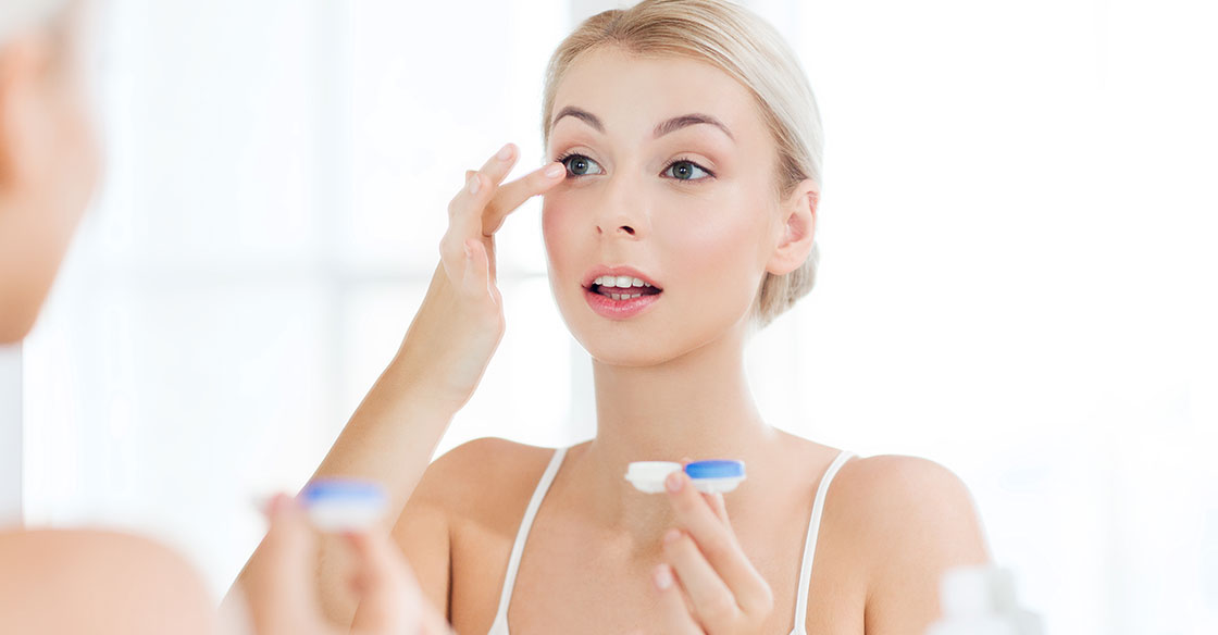 eye care - finding the right contacts for sensitive eyes EyeLux Optometry