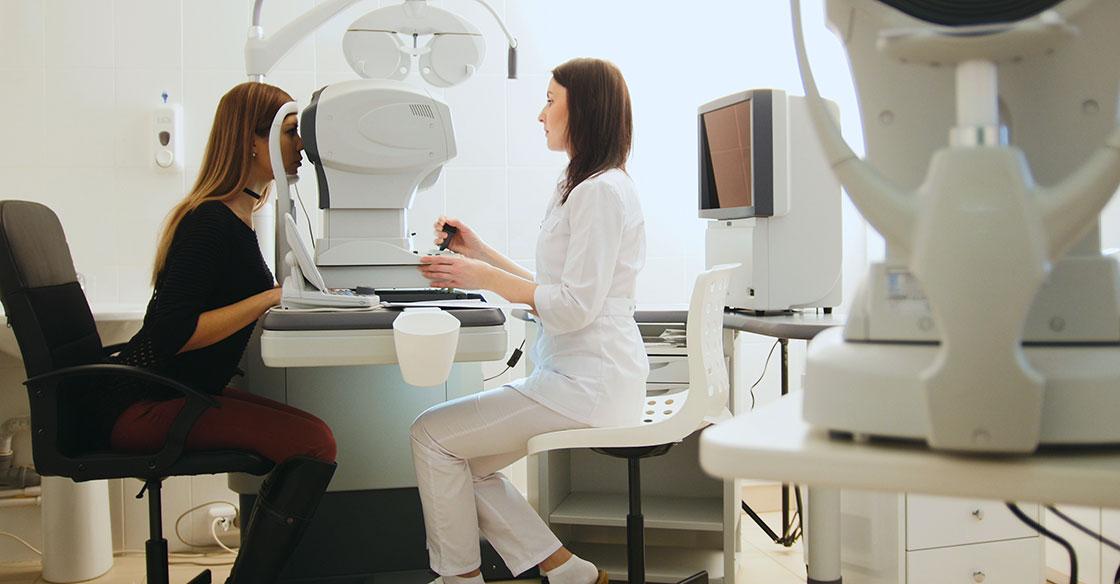 Diagnostic Eye Exam